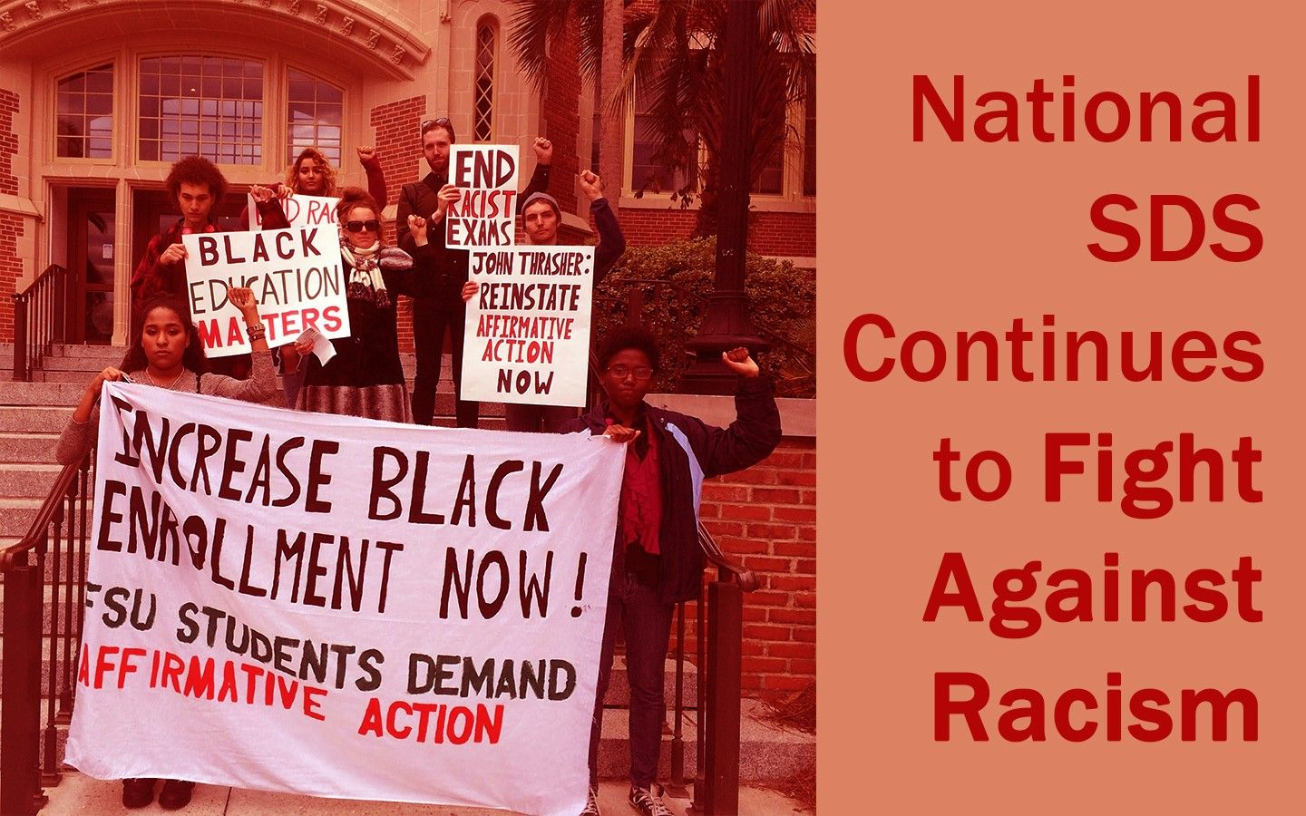2019 Resolution: National SDS Continues to Fight Against Racism