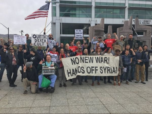 SDS Statement: Feb 15th Week of Action to Drop Charges, Not Bombs